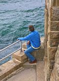 Man ocean Royalty Free Stock Images
