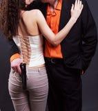 man och kvinna Royaltyfria Bilder