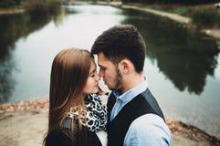 Man och kvinna Fotografering för Bildbyråer