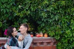 Man och kvinna Royaltyfri Fotografi
