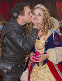 Man och Wench för Arizona renässansfestival Royaltyfria Bilder