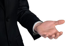 Man offer hand Royalty Free Stock Image