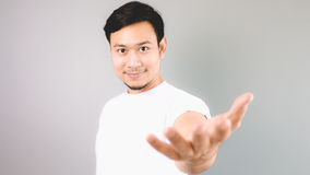 A man offering a help. Royalty Free Stock Photos