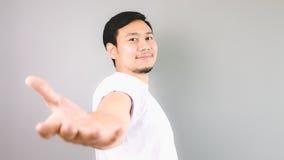 A man offering a help. Stock Photos