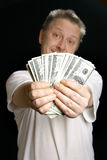 Man offering money Stock Photo