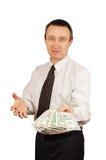 Man offers money Royalty Free Stock Photo