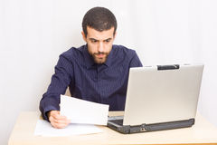 Man at office Royalty Free Stock Images