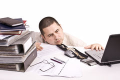 Man in a office Royalty Free Stock Images