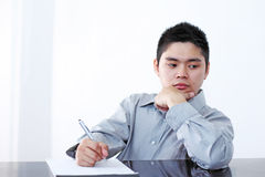 Man In The Office Stock Photo