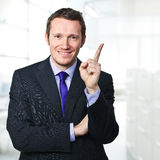 Man in office Stock Image
