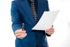 Man Office / business Concept. Royalty Free Stock Photo