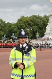 Man in Officer's Uniform Black Standing during Parade Stock Photo