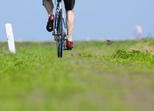 Free Man On Bicycle Stock Images - 1069594