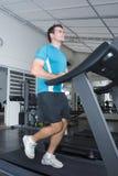 Man On Treadmill Royalty Free Stock Photography