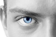 Man oog Stock Foto