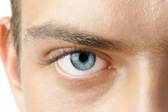 Man oog Stock Fotografie