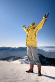 Man with open arms Royalty Free Stock Photo