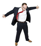 Man open his arms royalty free stock images