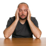 Man with pain Stock Photo