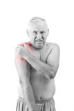 Man with pain Stock Images