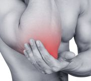 Acute pain Royalty Free Stock Photography