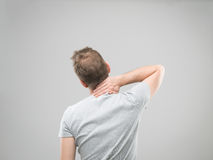 Man in pain Royalty Free Stock Photography
