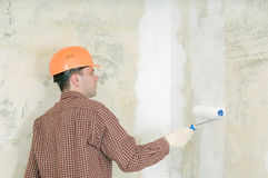 man painting Stock Photography