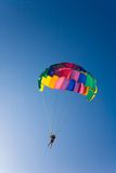 Man is parasailing Royalty Free Stock Image