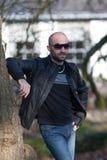 Man at a park Royalty Free Stock Image
