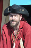 Man participating as a pirate Stock Photography