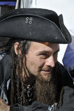 Man participating as a pirate Stock Photo