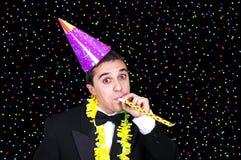 Man at party Royalty Free Stock Image
