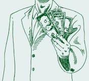 Man Paying Cash Royalty Free Stock Image