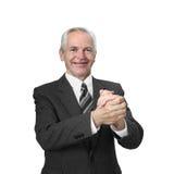 man pensionären Arkivfoton