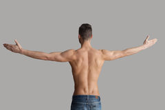 Man in perfect shape. Stock Photos