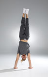 Man performing handstand Royalty Free Stock Images