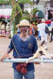 Man in Phitakhon. stock image