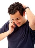 Man on the phone Stock Photo