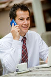 Man With Phone Stock Image