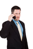 Man on the phone Royalty Free Stock Photo