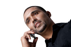 Man on the Phone Royalty Free Stock Images