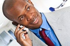 Man at phone Royalty Free Stock Photo