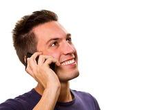 man at the phone Royalty Free Stock Photos