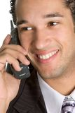 Man on Phone Stock Image