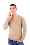 Man at the phone Stock Photography