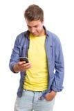 Man at the phone Stock Image