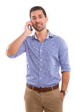 Man at the phone Stock Photo
