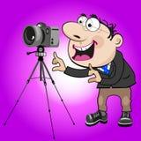 Man photographer Stock Photography