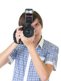 Man photographer Royalty Free Stock Photo