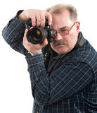 man photographer Royalty Free Stock Photography